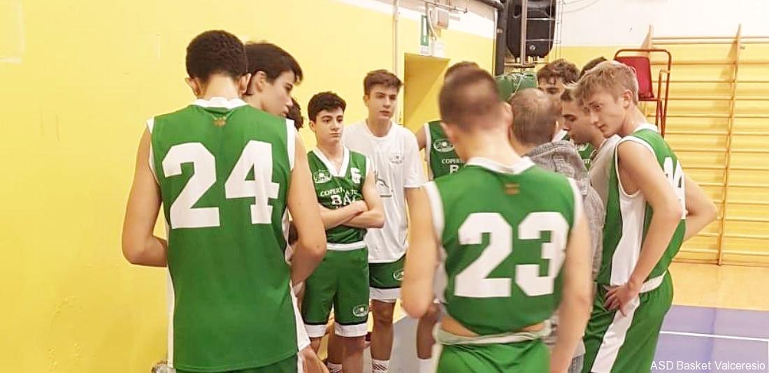 7° GIORNATA VAd: GAZZADA VS U18 = 40-56