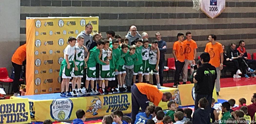 Torneo Internazionale Bambini a canestro