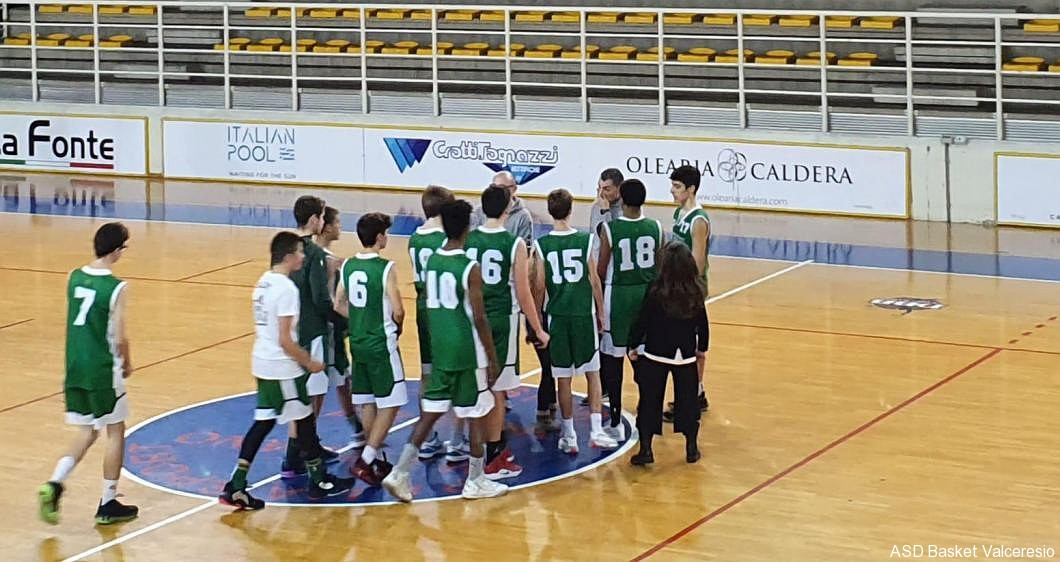 1° GIORNATA TOP NERO: BRESCIA VS U15 = 58-62