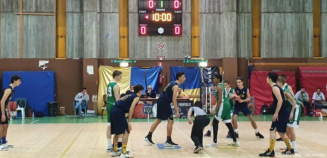 5° GIORNATA TOPNERO: SEREGNO VS U15 = 57-65