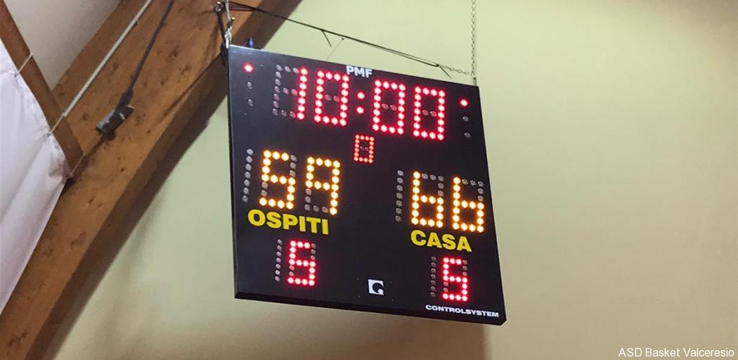 6° GIORNATA GOLD1: SANGIORGESE VS U18 = 66-59