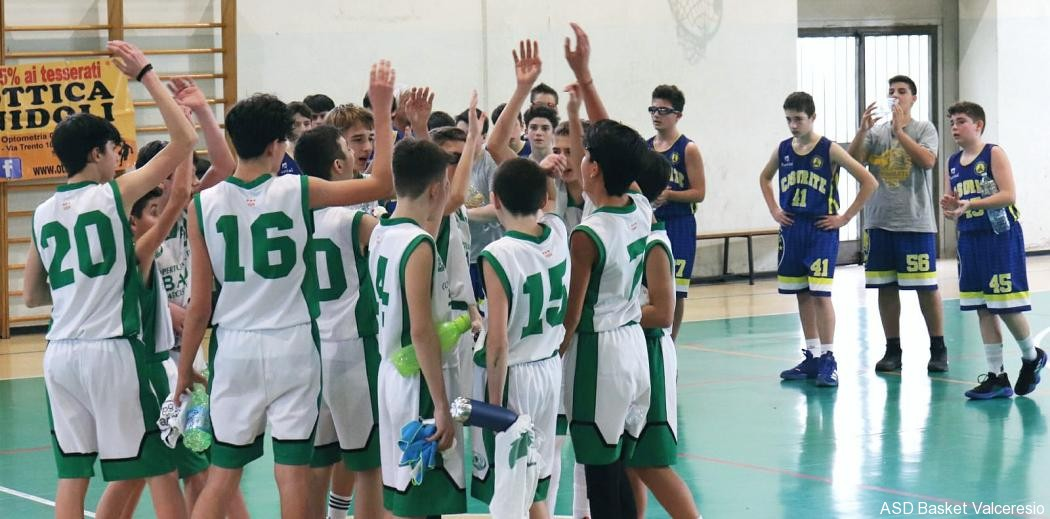 6° GIORNATA BRONZE1: U14 VS CASORATE = 95-71